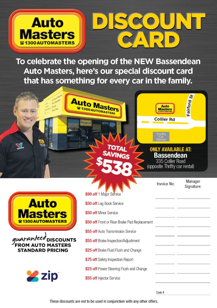 Bassendean Store Opening Specials